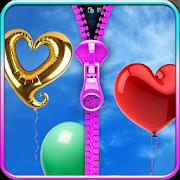 balloons lock screen