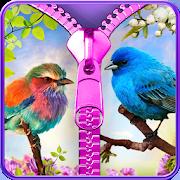 birds lock screen