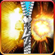 explosion lock screen