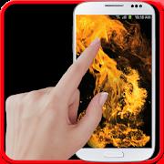 fire screen simulator