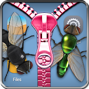flies lock screen