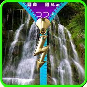 waterfall lock screen